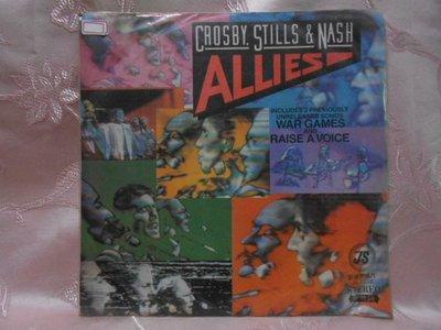 【采葳音樂網】-西洋黑膠–CROSBY STILLS & NASH〝ALLIES〞1260