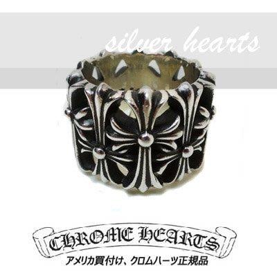 【SILVER HEARTS】Goros Chrome Hearts 克羅心 Cemetery 10 純銀戒指 指環