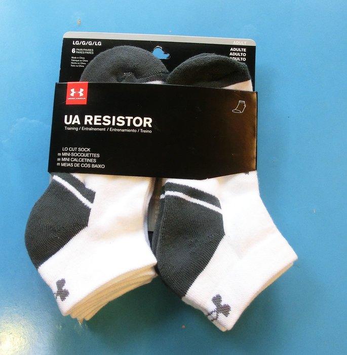 **[小小pen運動襪子]---Under Armor運動短襪~六雙一組