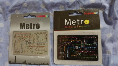 捷運路線圖 sliver+METRO 黑卡