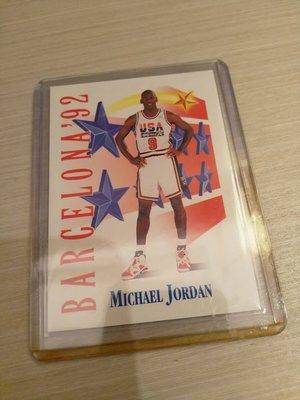 Michael Jordan NBA特卡 老卡 金卡 銀卡 the last dance 奧運