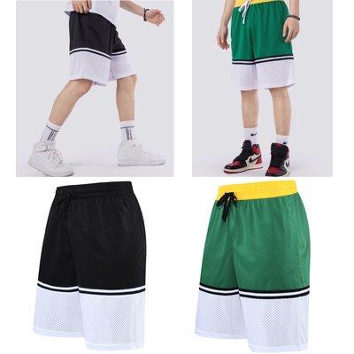 運動短褲 籃球褲 慢跑褲 五分褲 NBA NIKE同款 透氣 排汗 吸濕 拼接 口袋