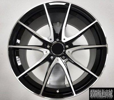 【CS-577】全新鋁圈 類AMG 18吋 5孔112 前後配 亮黑車亮面 W204 C300 A250 W211 LK