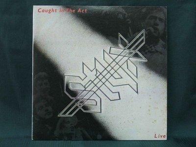 【黑膠時代】STYX / CAUGHT IN THE ACT(LIVE) 2LP
