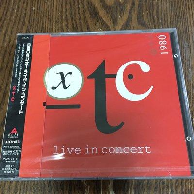 [老搖滾典藏] XTC-Live In Concert 全新日版現場輯