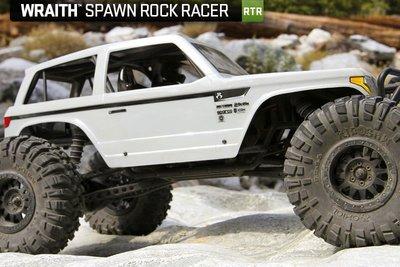 已到貨 Axial Wraith Spawn 幽靈 閃靈悍將 防水競速攀岩車# AX90045