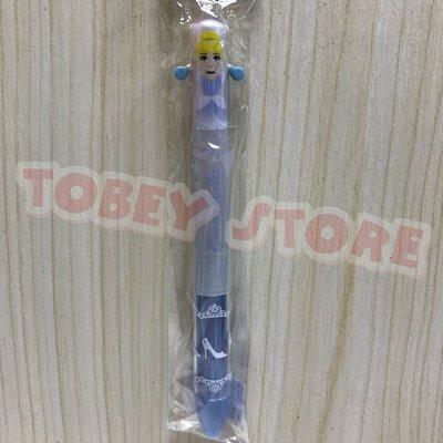 迪士尼 仙履奇緣 仙杜瑞拉 灰姑娘 造型雙色原子筆