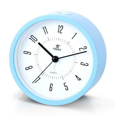 霸王鬧鐘學生床頭可愛靜音時錶大鈴聲兒童簡約夜光電子時鐘