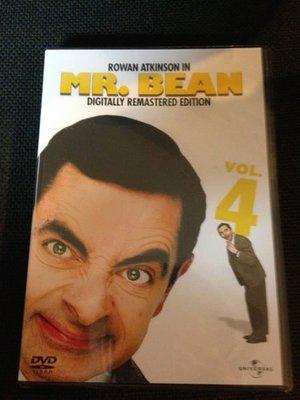 (全新絕版品)環球發行 Mr.Bean 豆豆先生影集 DVD vol.4(洲立公司貨)