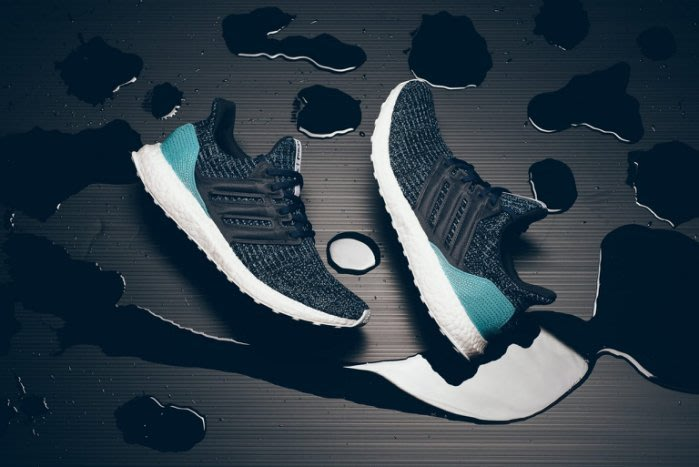 Adidas Ultra Boost x Parley 藍綠 海洋 環保材質 聯名 台灣公司貨 CG3673