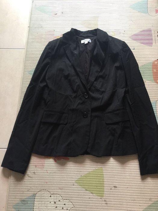 *衣服買二送一*Calvin Klein 黑色西裝外套 size 2