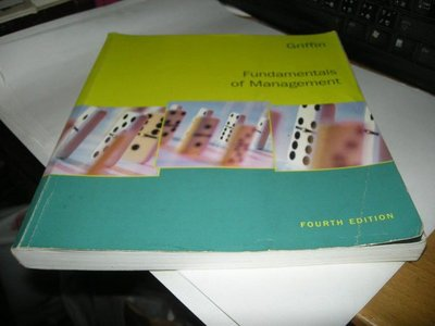 崇倫舊書坊  《Fundamentals of management》ISBN:0618472428