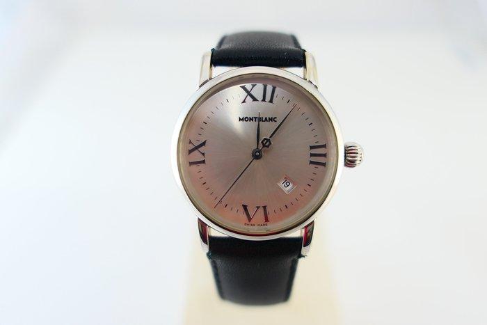 [吉宏精品交流中心]MONTBLANC 萬寶龍 7020 32mm Meisterstuck 石英 女錶