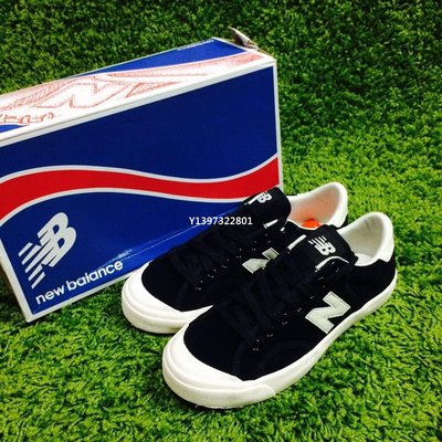 (smart) NEW BALANCE PROCTSBE NB 帆布鞋 復古 開口笑 韓國公司貨 黑白
