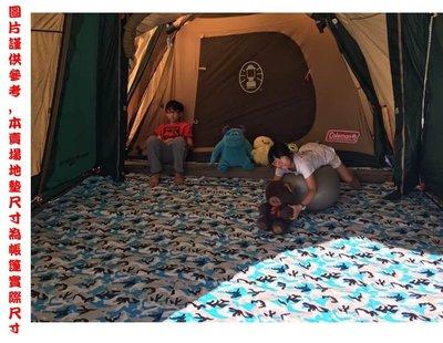 FB銷售冠軍 /印第安的帳篷咖啡425*215~防水地墊(不規則)/咖啡色下單處