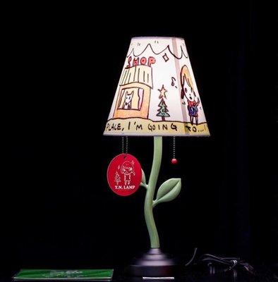 現貨 How2work  20週年 奈良美智 檯燈 Yoshitomo Nara 燈 Y.N lamp