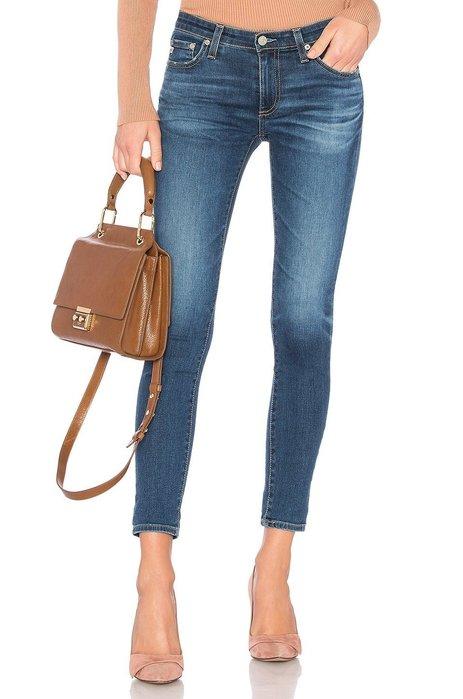 ◎美國代買◎AG legging ankle-8years blue portrait經典藍刷色熱銷合身九分牛仔褲
