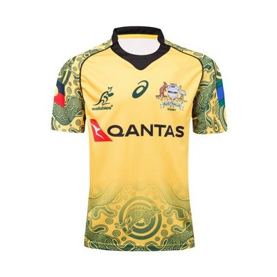 澳大利亞紀念版橄欖球衣服Australia Wallabies rugby Supporters jewe606