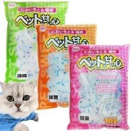 【??培菓寵物48H出貨??】寵物甜心》貓用水晶貓砂10L*1包 特價238元(限宅配)