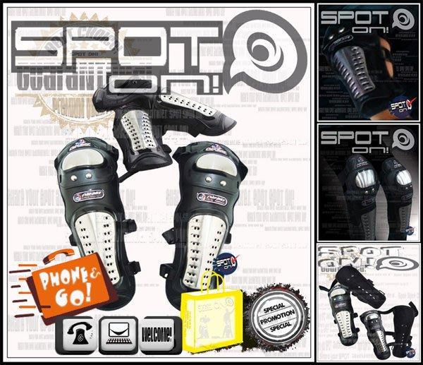 Spot ON - S12 金屬護具-四件式 - 護肘/護膝組-內外搭實用款! BENELLI MAD BIKE R1