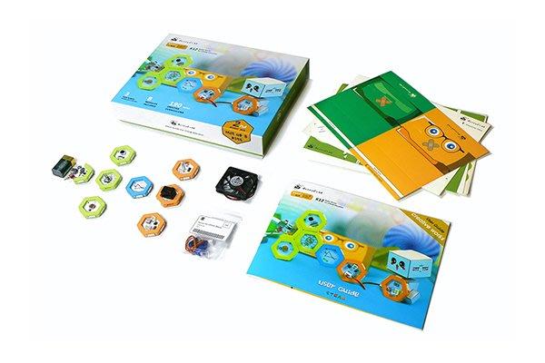 蜂巢 honeycomb basic kit steam教學太陽能鬧鐘、聲控真空吸塵器或自動泡泡機