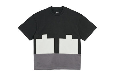 "[ LAB Taipei ] THE TRILOGY TAPES "" CUT & SEW TEE  "" (Black)"