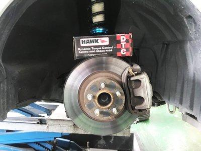 CS車宮車業 美國 HAWK DTC 公司貨  86 原廠卡鉗 用 前煞車來令片 前煞車皮