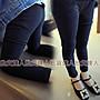 【批貨達人】女童氣質顯瘦貼身內褡長褲...