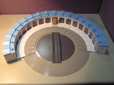 【喵喵模型坊】TOUCH RAIL 鐵支路 扇形車庫 (QH900)