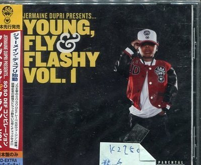 *真音樂* JERMAINE DUPRI / YOUNG FLY FLASHY VOL.1 全新 K22501