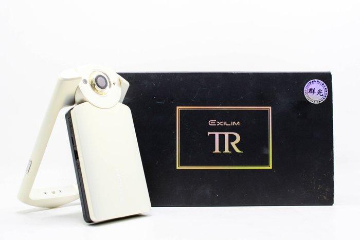 【台南橙市3C】Casio TR-60 TR60 白 美肌相機 TR相機 二手TR  自拍神器  #13977