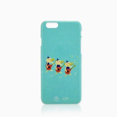 Cest Si Bon|【限量現貨•優惠】插畫立體浮雕iphone系列手機殼(三隻彈烏克麗麗)