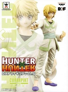 日本正版 景品 獵人 DXF vol.5 酷拉皮卡 模型 公仔 日本代購