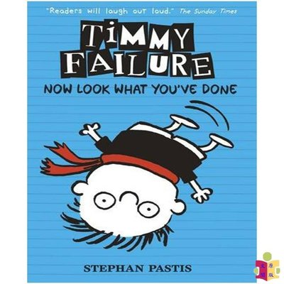 [文閲原版]英文原版 Timmy Failure: Now Look What You've Done 看看你做了