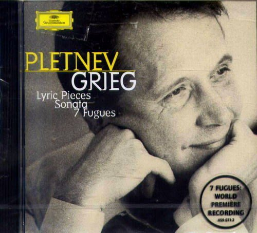 葛利格:抒情小品選,鋼琴奏鳴曲,7首賦格 /普雷特涅夫  --4596712
