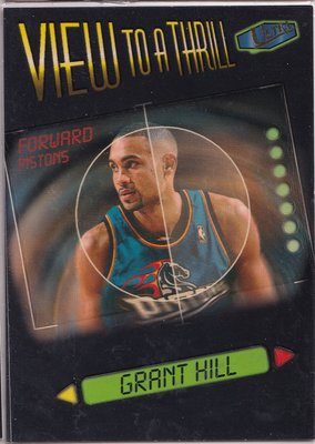 Grant Hill 1997-98 Fleer Ultra View to a Thrill