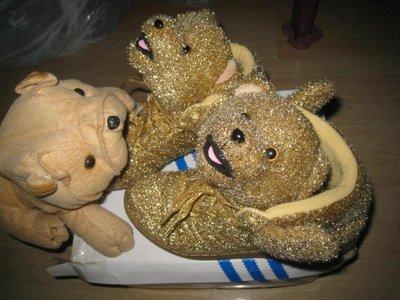 稀少Jeremy Scott xAD Originals JS Poodle JS BEAR金熊熊 G96188