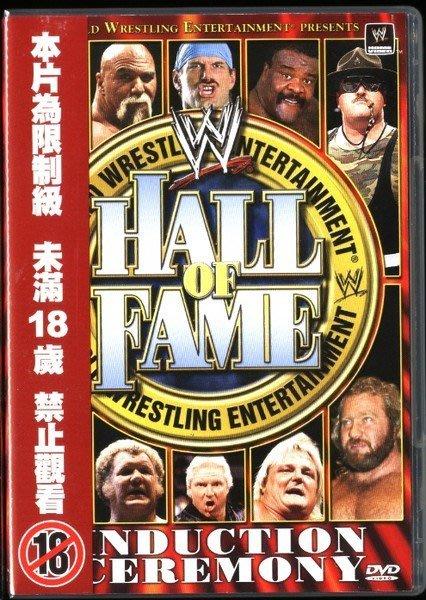 ◎全新雙片DVD完整版-345分鐘!WWE摔角-Hall Of Fame-摔角名人錄-眾多經典賽事-看圖◎