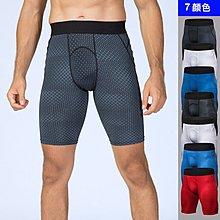 男士PRO緊身褲3D印花 健身跑步訓練立體印花速乾彈力運動短褲【諾凱思專業賣場】ny465