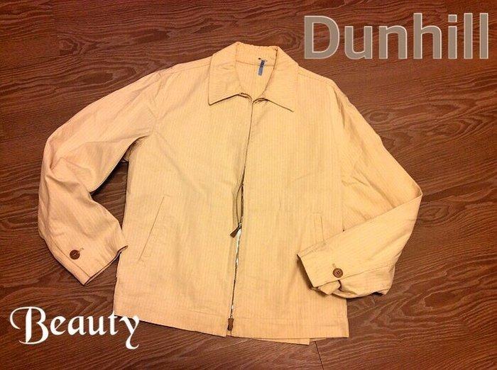 *Beauty*Dunhill男士米色風衣夾克外套 GR