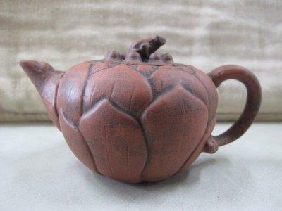 二手舖 NO.3166 紫砂壺 精選名壺 茶壺 土胎好 手工細膩 值得收藏