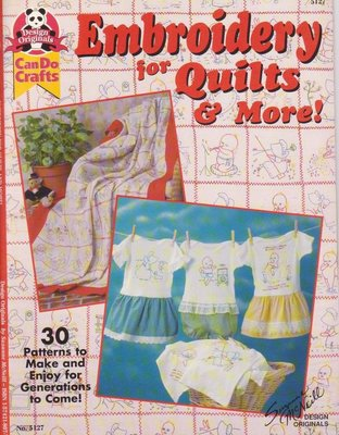 【傑美屋-縫紉之家】美國拼布紙型書籍~Embroidery for Quilts & More刺繡圖案更多圖集