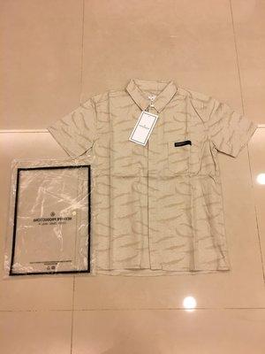 正品 NEXHYPE Multi~Denim Shirt 虎紋 卡其色 迷彩 SZ:M L XL 2300