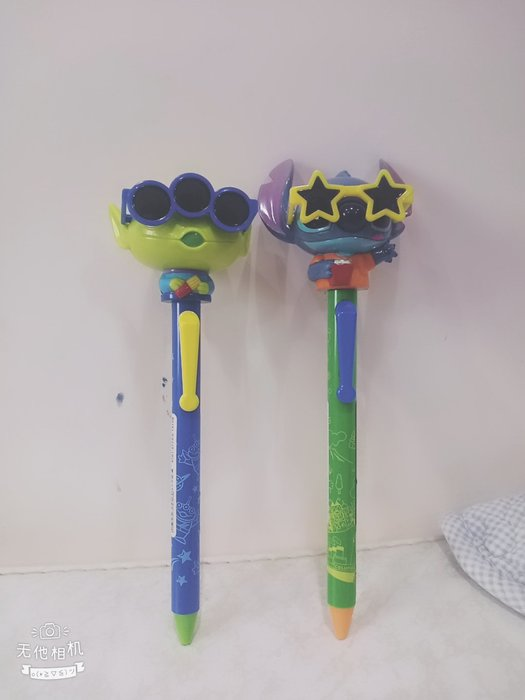 《東京家族》迪士尼 史迪奇/三眼怪 墨鏡 黑色原子筆