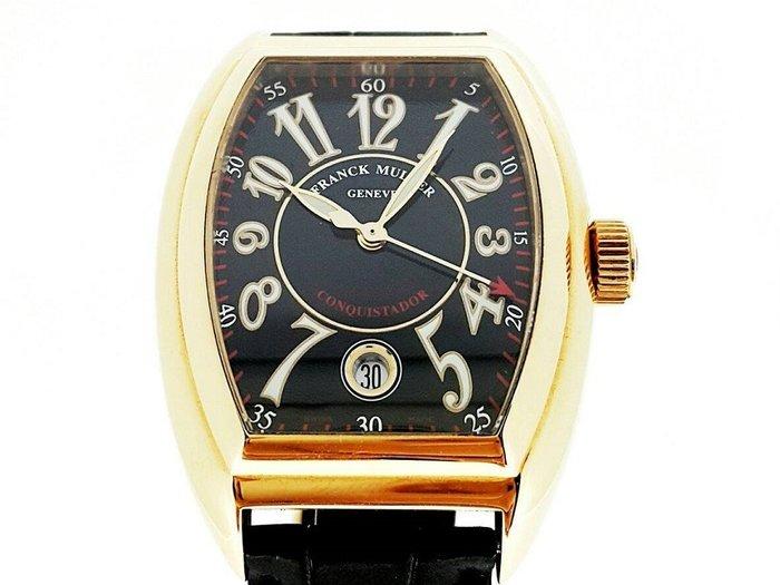 【英皇精品集團 】法蘭克米勒 CONQUISTADOR系列 8005 sc  碗錶