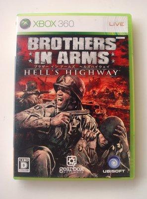 XBOX360 榮耀戰場 地獄棧道 日版(ONE可玩) Brothers in Arms