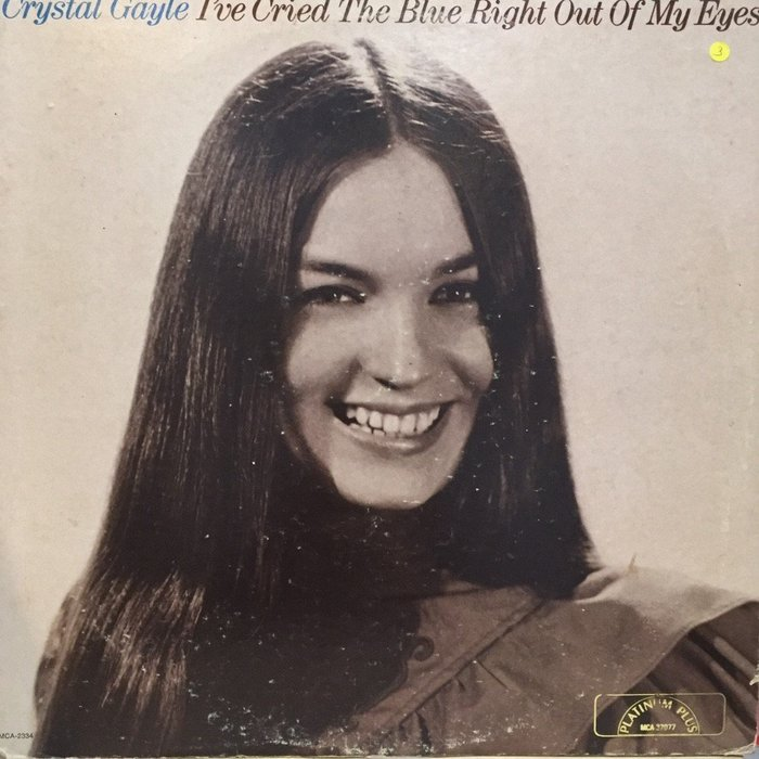§小宋唱片§ 美版/Crystal Gayle – I've Cried The Blue/二手西洋黑膠/Promo