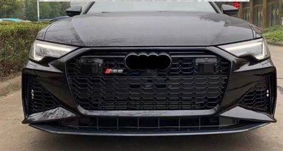 《HelloMiss》現貨 2019年後 奧迪 Audi A6 C8 改 RS6 前保桿 保險桿 ACC 360環景適用