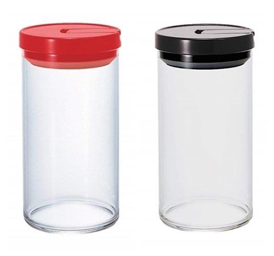 ☆龍歡喜精品☆ 日本 HARIO 咖啡豆 食物 收納 保鮮 耐熱 玻璃 密封罐 1000ml 食物罐 糖果罐