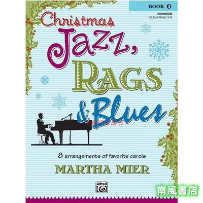 Ch書籍 知識 管理ristmas Jazz, Rags & Blues, Book 2 Alfred 00-24419   MartK5826